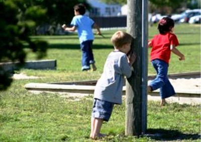 1. Hide and Seek e1345794784916 Top 10 Outdoor Games for Kids