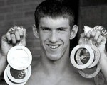 1. Michael Phelps