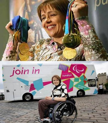 1. Tanni Grey Thompson e1346129906503 10 Greatest Paralympians of All Time