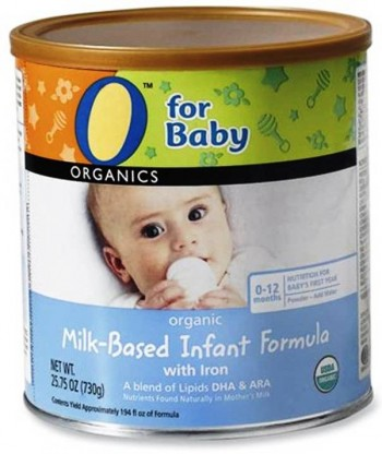 10. O Organics for Baby e1346306858109 Top 10 Baby Formula Brands in 2012