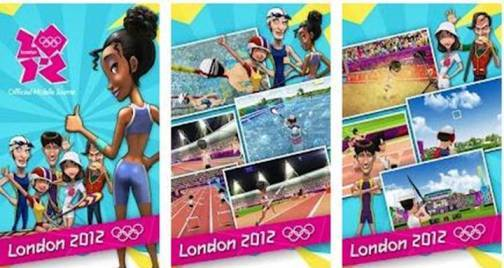 10. Official London 2012 Mobile Game Top 10 Olympics 2012 Mobile Applications