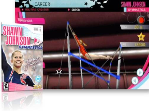 10. Shawn Johnson Gymnastics Top 10 Olympic Video Games