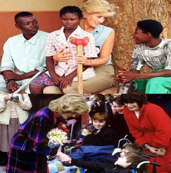 10. The 118 Charities She Supported. e1346055541477 10 Interesting Facts about Princess Diana