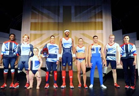 2. Great Britain e1343828827206 Top 10 Best Olympic Uniforms 2012