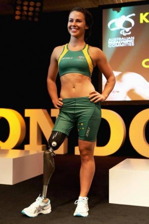 2. Kelly Cartwright e1346208682295 Top 10 Sexiest Paralympic Athletes 2012