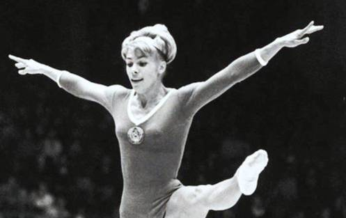 2. Larisa Semyonovna Latynina Top 10 Greatest Olympians of All Time