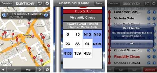 2. London Bus Checker Top 10 Olympics 2012 Mobile Applications