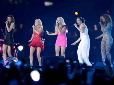 2. The Spice Girls Reunion at the Closing Ceremony e1345178275247 Top 10 London Olympics News 2012