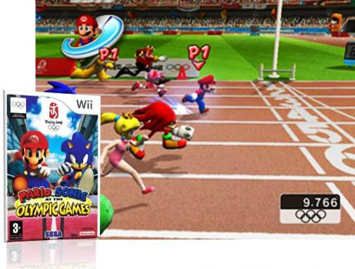 4. Mario Sonic at the Olympic Games Beijing 2008 Top 10 Olympic Video Games