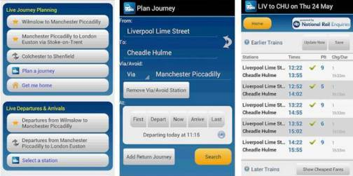 4. Rail Planner Live Top 10 Olympics 2012 Mobile Applications