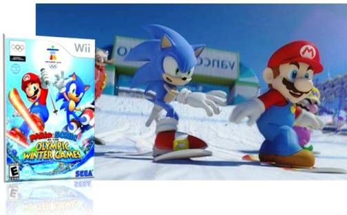 5. Mario Sonic at the Winter Olympic Games Vancouver 2010 Top 10 Olympic Video Games