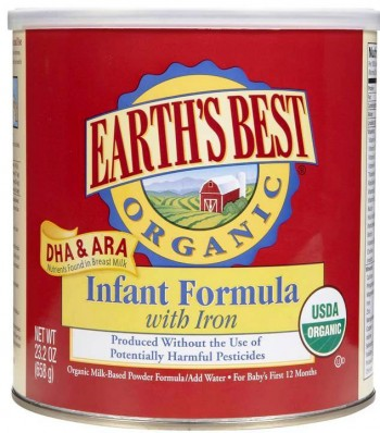 6. Earths Best Organic e1346306817320 Top 10 Baby Formula Brands in 2012