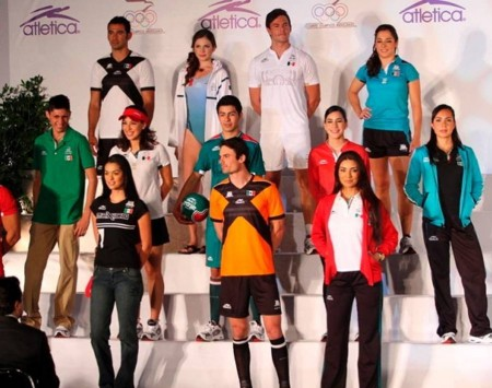 6. Mexico e1343828870512 Top 10 Best Olympic Uniforms 2012