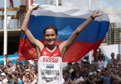 6. New World Record for a Russian Female e1345178315555 Top 10 London Olympics News 2012