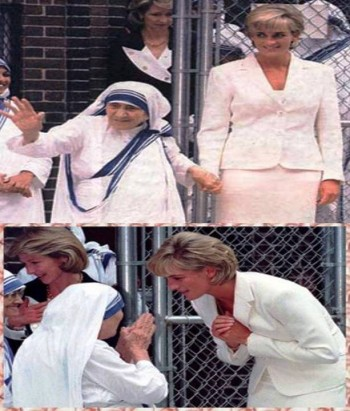 6. She Loved Mother Teresa e1346055467889 10 Interesting Facts about Princess Diana
