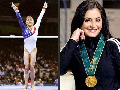 7. Dominique Moceanu e1344838970534 Top 10 Youngest Olympian Medalists