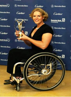 7. Esther Vergeer e1346208740520 Top 10 Sexiest Paralympic Athletes 2012