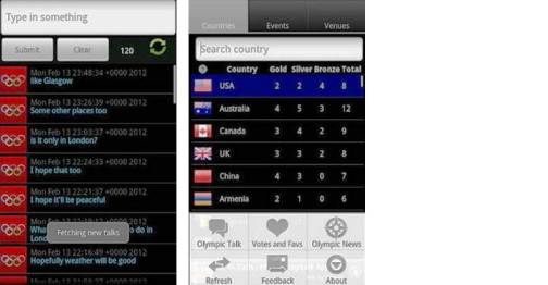 7. London Olympics Ultimate Top 10 Olympics 2012 Mobile Applications