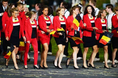 8. Belgium e1343828891379 Top 10 Best Olympic Uniforms 2012
