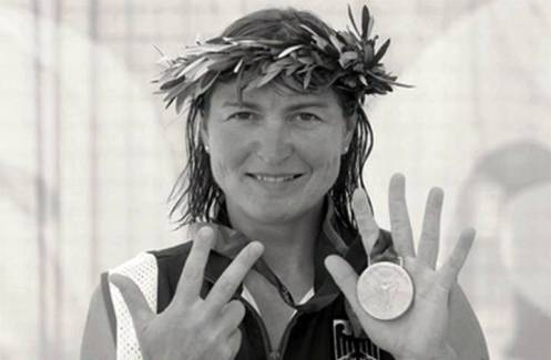 8. Birgit Fischer Top 10 Greatest Olympians of All Time