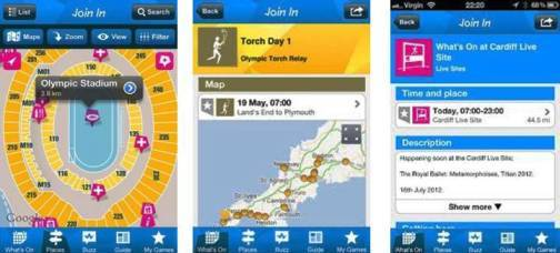 8. Official London 2012 Join In Top 10 Olympics 2012 Mobile Applications