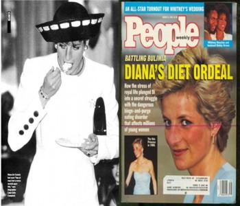 8. She suffered Chronic Bulimia e1346055499144 10 Interesting Facts about Princess Diana