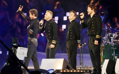 8. The Bravery of Gary Barlow e1345178351357 Top 10 London Olympics News 2012