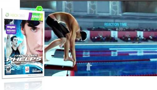 9. Michael Phelps Push the Limits Top 10 Olympic Video Games