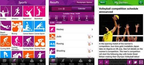 9. Official London 2012 Results Top 10 Olympics 2012 Mobile Applications