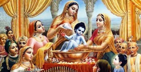 9. The Birth of Krishna e1343979421537 Top 10 Facts about Janmashtami