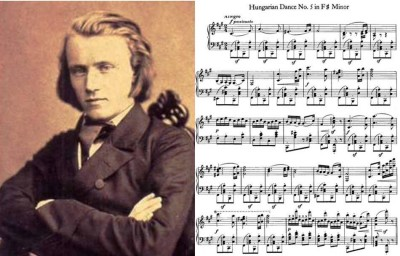 1. Johannes Brahms Hungarian Dance No.5 e1346822878754 Top 10 Classical Music Pieces of All Time