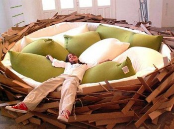 10. Nest Bed e1347855095870 Top 10 Most Unique Beds in the World