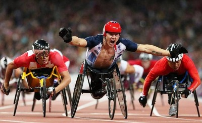 10. The Unparallel Strength of David Weir e1347345734709 Top 10 Paralympics Moments in 2012