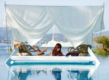 2. Floating Bed e1347854992762 Top 10 Most Unique Beds in the World