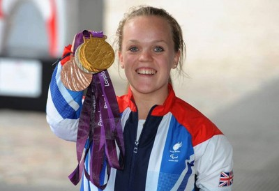 2. The First Gold of Ellie Simmonds e1347345605493 Top 10 Paralympics Moments in 2012