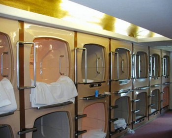 3. Osaka Capsule Inn e1348845775815 Top 10 Most Bizarre Hotels in the World