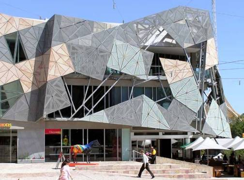 4. Federation Square Top 10 World's Ugliest Buildings 2012