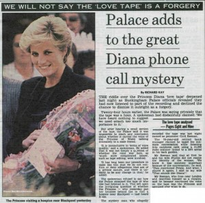 4. Princess Diana and James Gilby Lovers' Phone Chat Transcript.  e1347960625669 The Top 10 Royal Controversies in the World