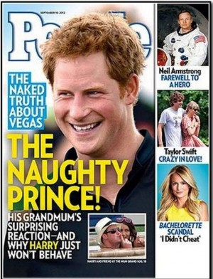 5. Prince Harry's Series of Misadventures e1347958802507 The Top 10 Royal Controversies in the World