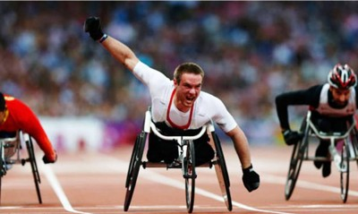 5. The Winning End for Mickey Bushell e1347345637280 Top 10 Paralympics Moments in 2012