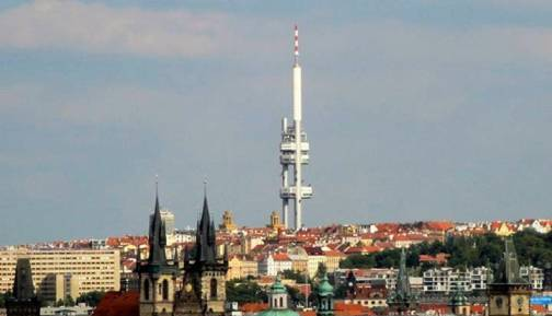 6. Zizkov Television Tower Top 10 World's Ugliest Buildings 2012