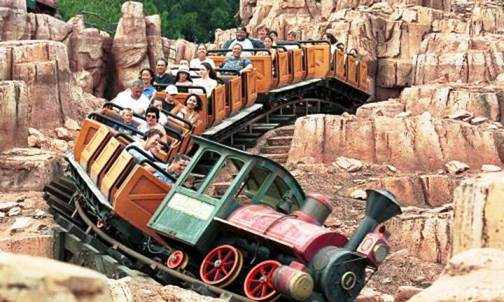 7. Big Thunder Mountain Railroad at Disneyland Top 10 Worst Amusement Park Accidents of All Time