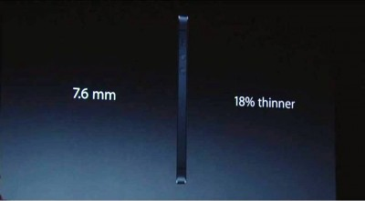 7. Thinnest Smartphone e1347944433468 Top 10 Features of iPhone 5