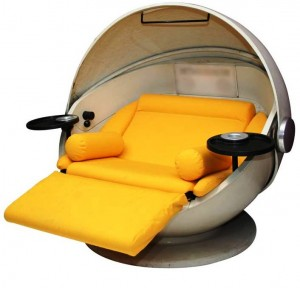 8. Spacecraft Chair bed e1347855073415 Top 10 Most Unique Beds in the World