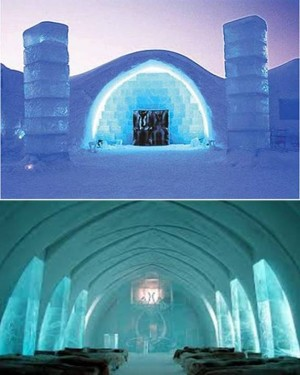 9. Ice Hotel e1348845837489 Top 10 Most Bizarre Hotels in the World
