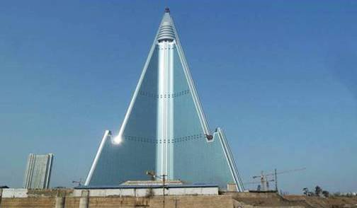 9. Ryugyong Hotel Top 10 Worlds Ugliest Buildings 2012