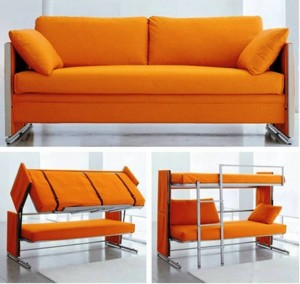 9. Sofa Bunk Bed e1347855084250 Top 10 Most Unique Beds in the World