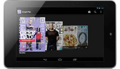 1. Google Nexus 7 Top 10 Alternatives to iPad Mini