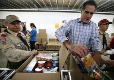 1. He is a Silent Samaritan e1349421853912 Top 10 Interesting Facts about Mitt Romney