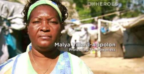 1. Malya Villard Appolon Top 10 Nominees for CNN Heroes of 2012